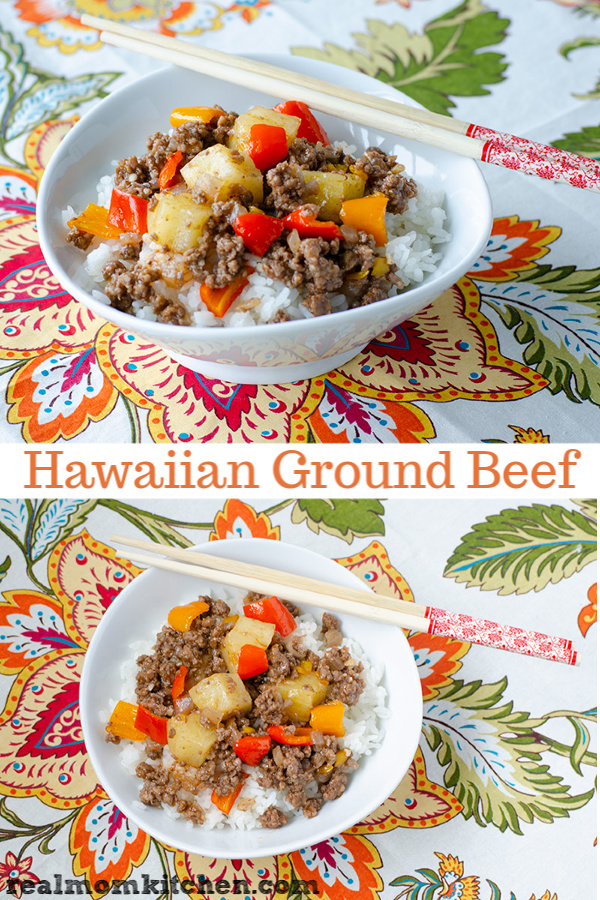 Hawaiian Ground Beef   realmomkitchen.co