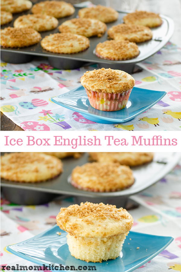 Ice Box English Tea Muffins | realmomkitchen.com