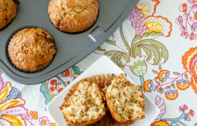 Maple Brown Sugar Oatmeal Muffins   realmomkitchen.com