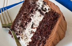 Chocolate Oreo Cream Cake | realmomkitchen.com