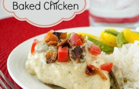Creamy Baked Chicken | realmomkitchen.com