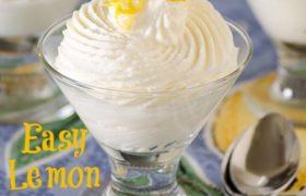 Easy Lemon Mousse | realmomkitchen.com