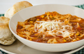 Easy Pasta Soup | realmomkitchen.com
