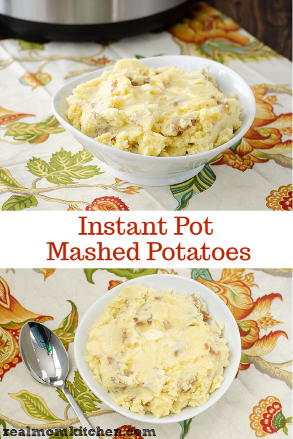 Instant Pot Mashed Potatoes | realmomkitchen.com