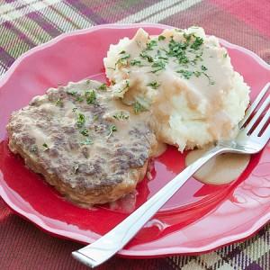 Creamy Salisbury Steak Real Mom Kitchen