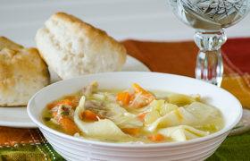 Slow Cooker Chicken Noodle Soup   realmomkitchen.com