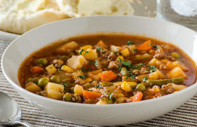 Vegetable Beef Soup | realmomkitchen.co