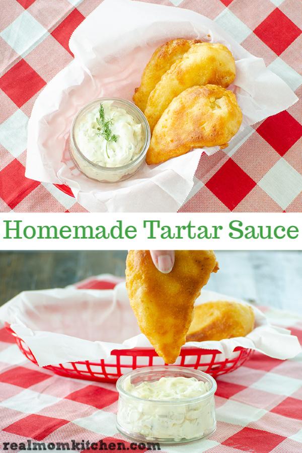 Homemade Tartar Sauce | realmomkitchen.com