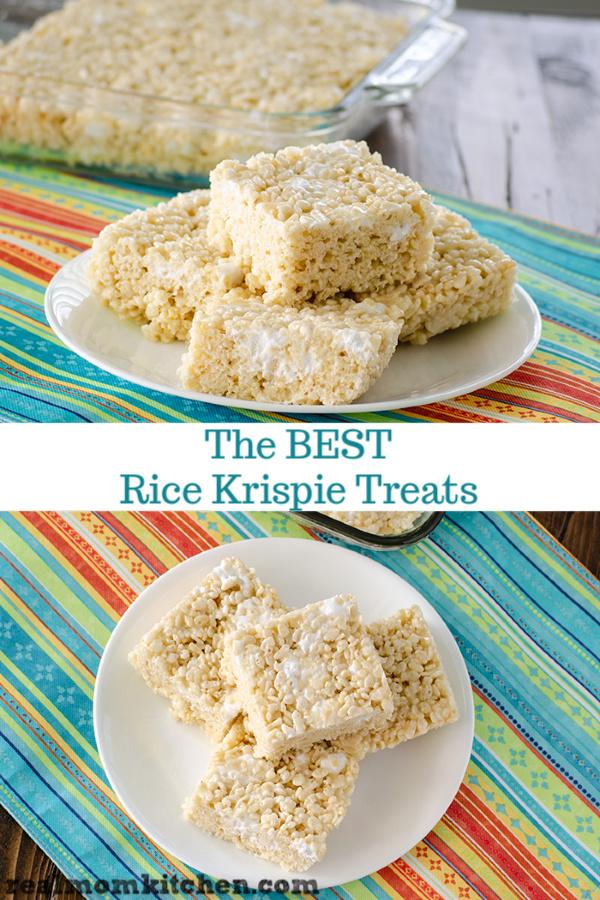 The Best Rice Krispie Treats   realmomkitchen.com