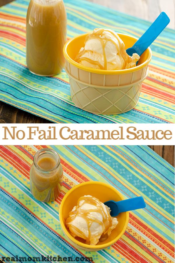 No-Fail Caramel Sauce | realmomkitchen.com