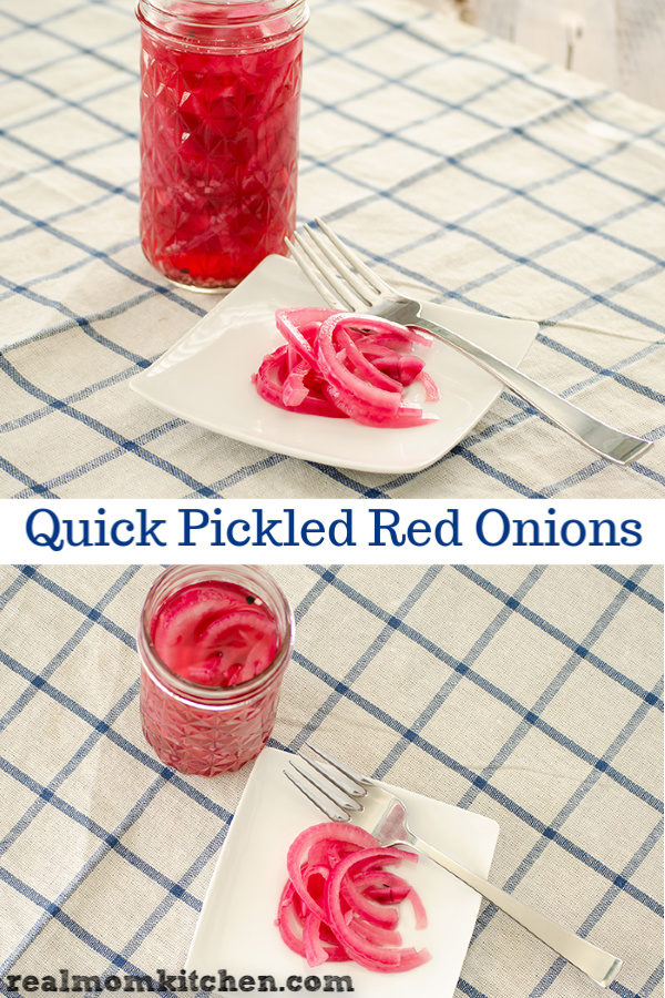 Quick Pickled Red Onions | realmomkitchen.com