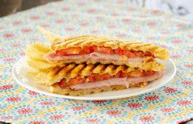 Turkey Bacon Avocado Paninis | realmomkitchen.com