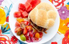 Easy Marinated Tomato Salad | realmomkitchen.com