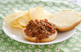 BBQ Beef Sloppy Joes | realmomkitchen.com