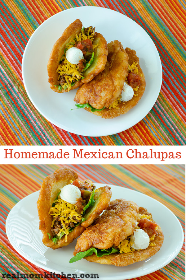 Homemade Mexican Chalupas | realmomkitchen.com