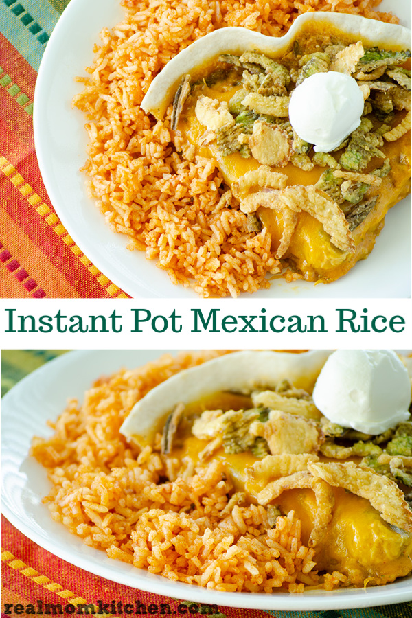 Instant Pot Mexican Rice | realmomkitchen.com