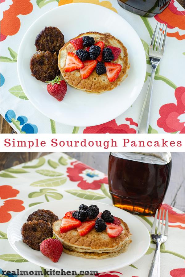 Overnight Sourdough Pancakes   realmomkitchen.com