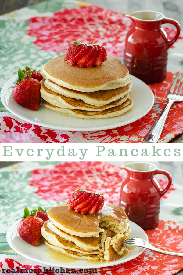 Everyday Pancakes | realmomkitchen.com