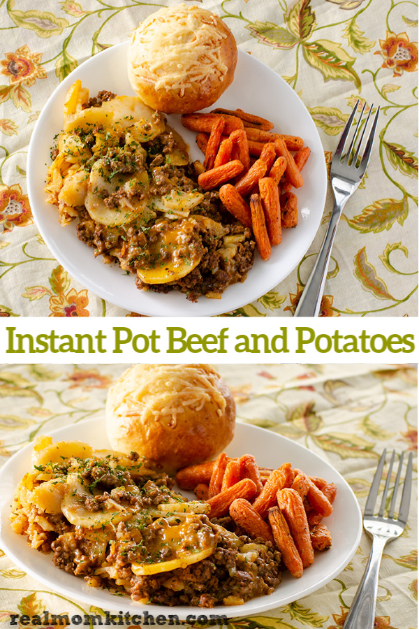 Instant Pot Beef and Potatoes | realmomkitchen.com