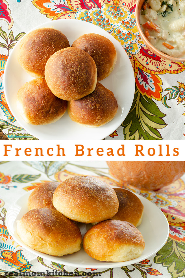 French Bread Rolls | realmomkitchen.com