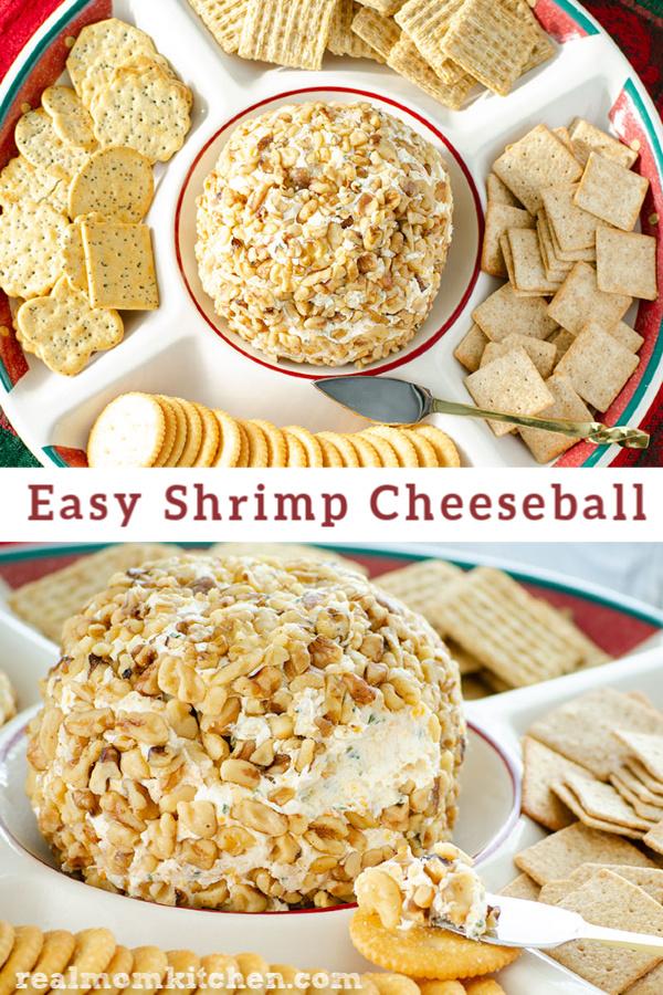 Easy Shrimp Cheeseball | realmomkitchen.com