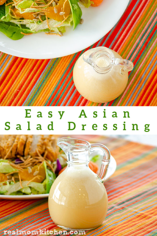 Easy Asian Salad Dressing | realmomkitchen.com