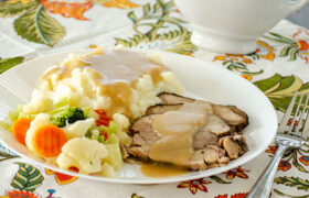 Easy Crock Pot Pork Roast with Gravy | realmomkitchen.com