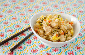 Instant Pot Chicken Fried Rice   realmomkitchen.com
