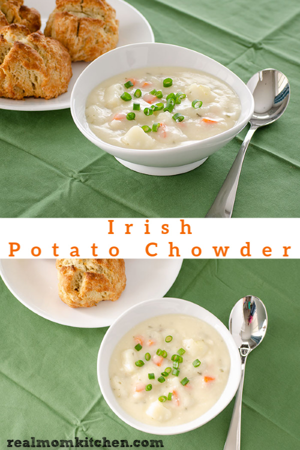 Irish Potato Chowder | realmomkitchen.com