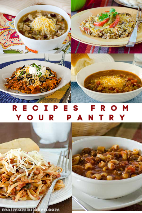 Recipes from your Pantry | realmomkitchen.com