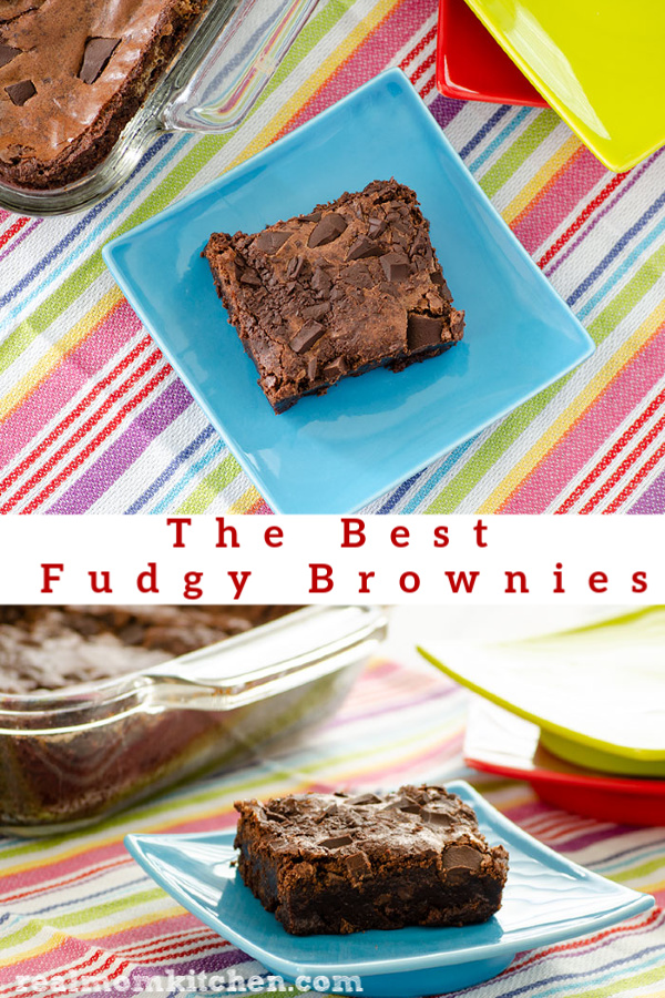 The Best Fudgy Brownies | realmomkitchen.com