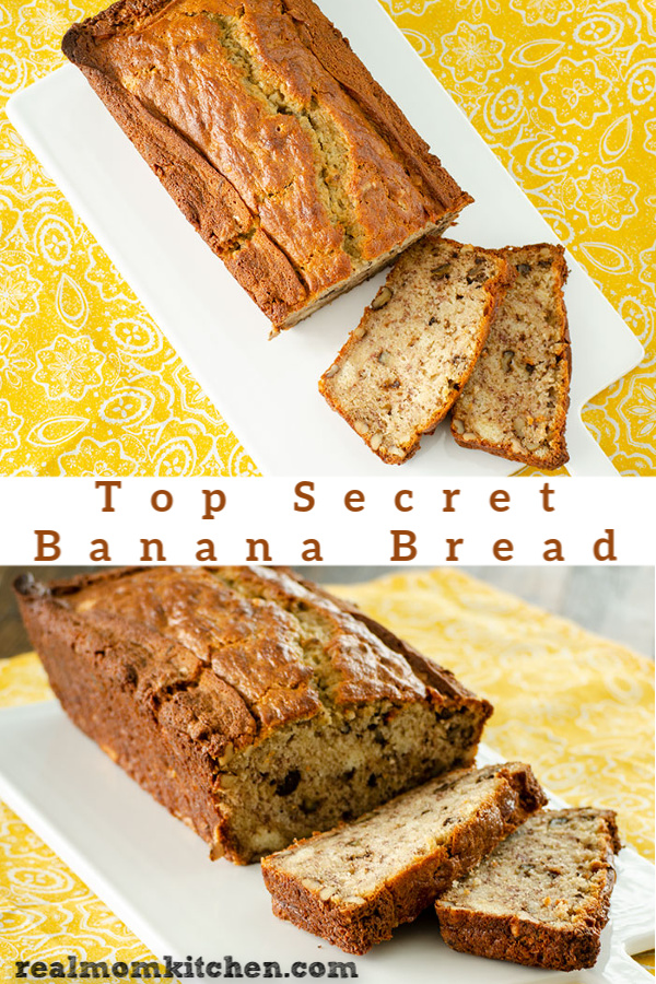 Top Secret Banana Bread | realmomkitchen.com