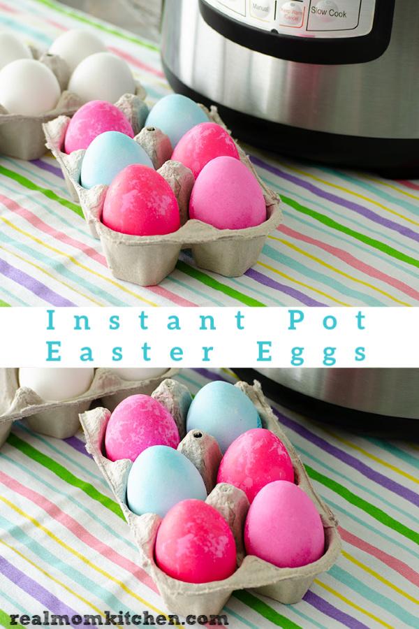 Instant Pot Easter Eggs | realmomkitchen.com