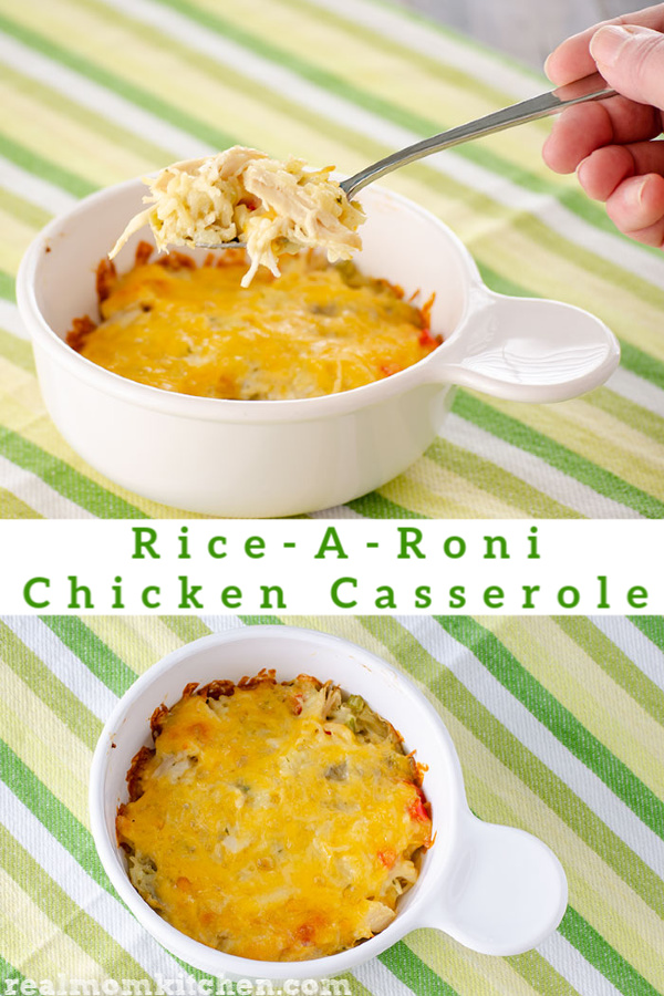 Rice-A-Roni Chicken Casserole | realmomkitchen.com