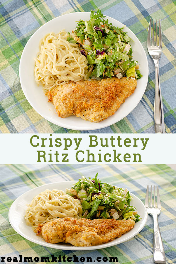 Crispy Buttery Ritz Chicken | realmomkitchen.com