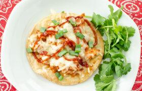 BBQ Chicken Tostadas | realmomkitchen.com