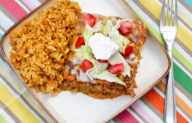 Easy Mexican Tortilla Stack | realmomkitchen.com