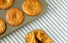 Refrigerator Bran Muffins | realmomkitchen.com