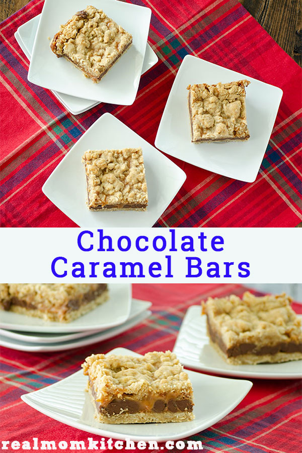 Chocolate Caramel Bars | realmomkitchen.com