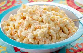 Easy Hawaiian Macaroni Salad | realmomkitchen.com