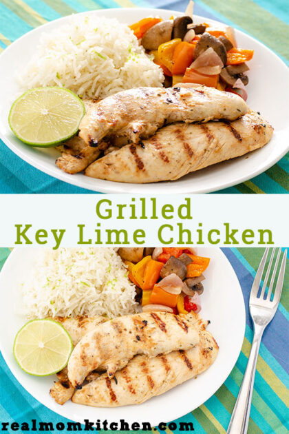 Grilled Key Lime Chicken | realmomkitchen.com