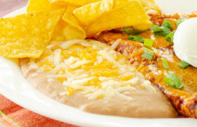 Canned Refried Beans Restaurant Style | realmomkitchen.com