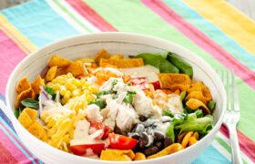 Fiesta Ranch Chicken Salad | realmomkitchen.com
