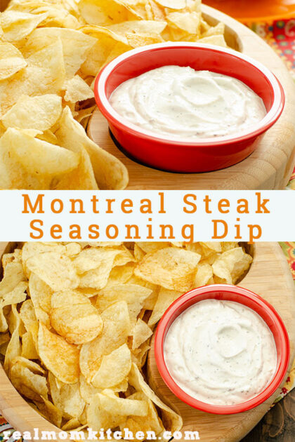 Montreal Steak Seasonong Dip | realmomkitchen.com