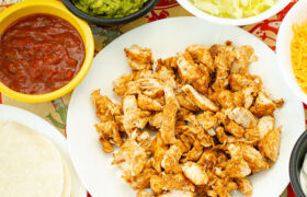 Air Fryer Chicken Tacos | realmomkitchen.com