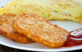 Air Fryer Hashbrown Patties | realmomkitchen.com