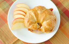 Turkey Bacon Ranch Croissants | realmomkitchen.com
