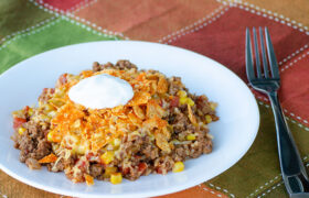 Instant Pot Beef Nacho Casserole | realmomkitchen.com