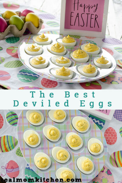 The Best Deviled Eggs | realmomkitchen.com