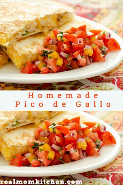 Homemade Pico de Gallo | realmomkitchen.com